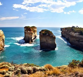 Küstenlandschaft in Australien