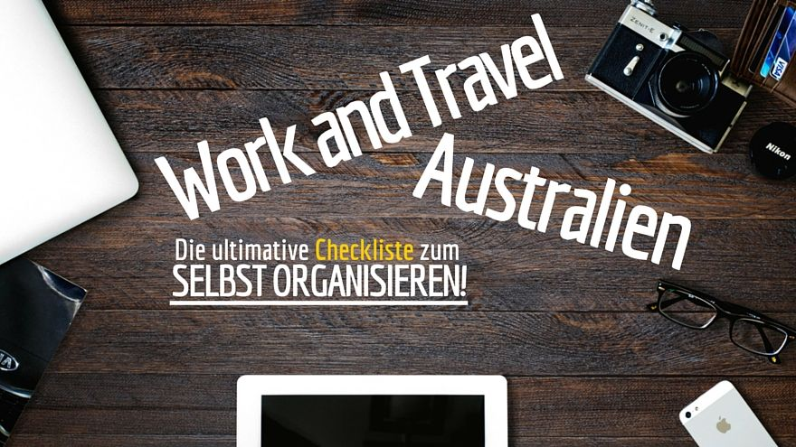 Work and Travel Australien Checkliste