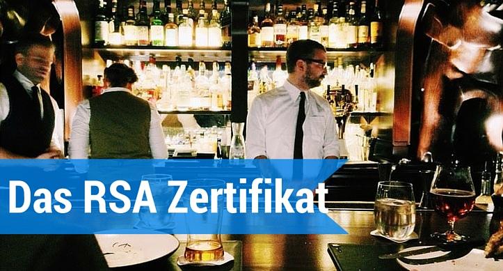 Das RSA Zertifikat