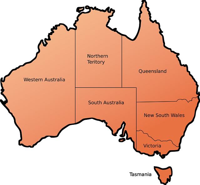 Bundesstaaten Australien