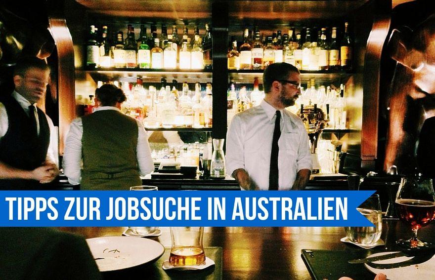 Tipps zur Jobsuche Australien