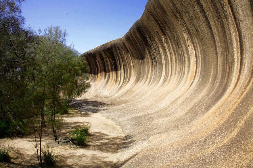 Waverock östlich von Perth