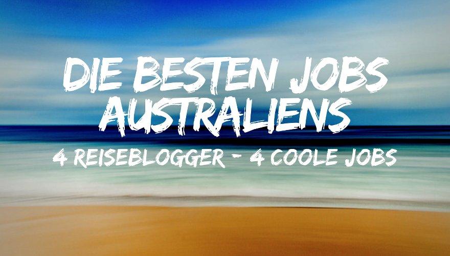 Die besten Jobs in Australien Titelbild